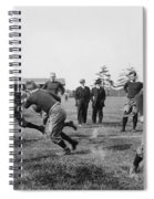 Yale: Football Practice Spiral Notebook