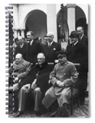 Yalta Conference, 1945 Spiral Notebook