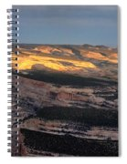 Yampa Bench Sunset One Spiral Notebook