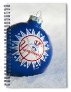 Yankees Ornament Spiral Notebook