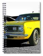 Yellow Barracuda Spiral Notebook