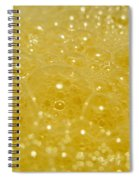 Yellow Bubbles Spiral Notebook