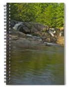 Yellow Dog Falls 4232 Spiral Notebook
