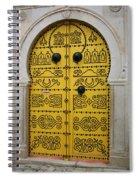 Yellow Door In Bardo Spiral Notebook