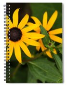 Yellow Flowers Spiral Notebook