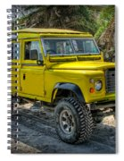 Yellow Jeep Spiral Notebook