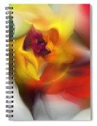 Yellow Rose Fantasy Spiral Notebook