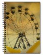 Yellow Seats Spiral Notebook