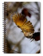 Yellow Shafted Spiral Notebook