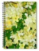 Yellow Shower Tree - 1 Spiral Notebook