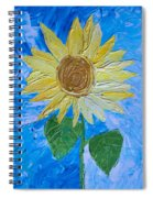 Yellow Sunshine Spiral Notebook