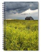 Yellow Sweet Clover Melilotus Spiral Notebook