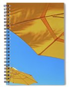 Yellow Time  Spiral Notebook