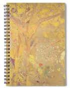 Yellow Tree Spiral Notebook