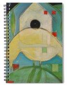 Yellowbird Whitehouse Spiral Notebook