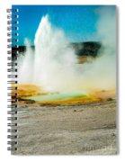 Yellowstone Geysers Spiral Notebook