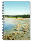 Yellowstone: Hot Spring Spiral Notebook