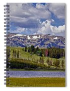 Yellowstone National Park Spiral Notebook