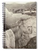 Yellowstone Park: Mammoth Spiral Notebook