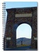 Yellowstone Roosevelt Arch Spiral Notebook