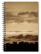 Yesteryears Sunset Spiral Notebook