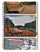 Yet Still I Wait Triptych Series Spiral Notebook