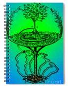 Yggdrasil From Norse Mythology Spiral Notebook