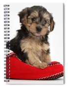 Yorkipoo Pup Spiral Notebook