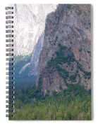 Yosemite Bridal Veil Fall Spiral Notebook