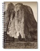 Yosemite: Cathedral Rock Spiral Notebook