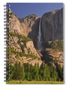 Yosemite Fall's Spring Flow Spiral Notebook