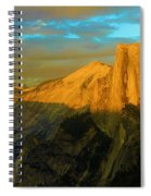 Yosemite Golden Dome Spiral Notebook