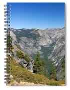 Yosemite Half Dome Spiral Notebook