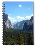 Yosemite Panorama Spiral Notebook