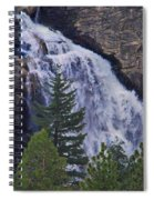 Yosemite Waterfall Spiral Notebook