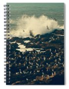 You Came Crashing Into My Heart Spiral Notebook