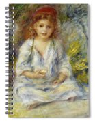 Young Algerian Girl Spiral Notebook