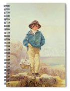 Young England - A Fisher Boy Spiral Notebook