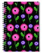 Young Florals  Spiral Notebook