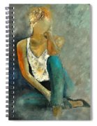 Young Girl 562190 Spiral Notebook