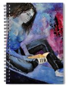 Young Girl 662160 Spiral Notebook