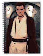 Young Obi Wan Kenobi Spiral Notebook