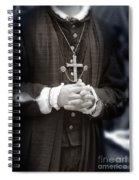 Young Renaissance Priest Spiral Notebook