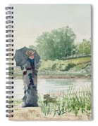 Young Woman Spiral Notebook
