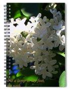 Your Light Spiral Notebook