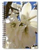 Yucca Flowers Spiral Notebook