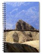 Zabriske Point Spiral Notebook