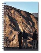 Zabriske Sunrise Watchers Spiral Notebook