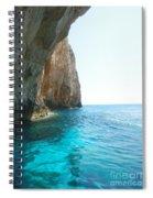 Zakynthos Blue Caves Spiral Notebook