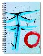 Zen Nature Spiral Notebook